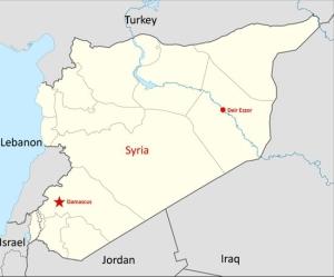 Map-of-Syria-showing-Deir-Ezzor